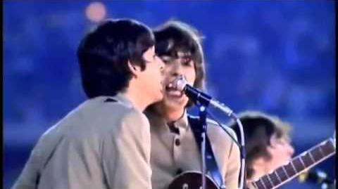 The Beatles- I Feel Fine (Live In Shea Stadium)