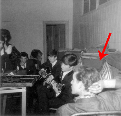 File:The 11th Doctor aka Matt Smith with the Beatles, how's that possible.jpg