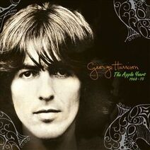 George Harrison, The Apple Years cover