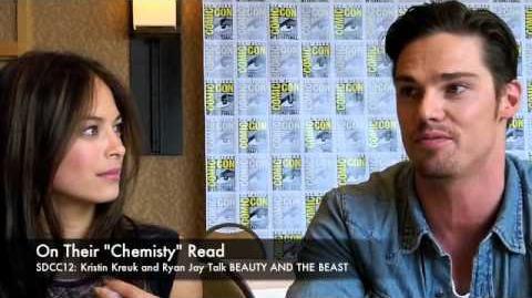 Kristin Kreuk and Ryan Jay Talk BEAUTY & THE BEAST