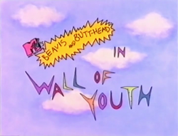 Wall of Youth Title Card