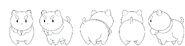 Tumblr puppycat turn model