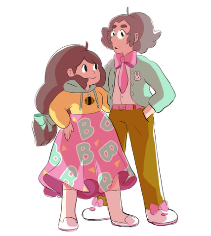File:Official Art - Bee and Her Dad.png