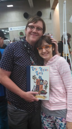 File:Becky Dreistadt and Frank Gibson at Comic con..jpg