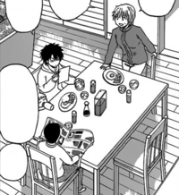 Oga Having Breakfast With His Family