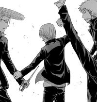 Furuichi Blocks The Two Attacks