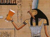 Egypt art beer