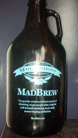 File:Mad Anthony Brewing Company Growler.jpg