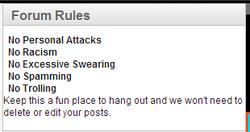 NPlay Forum Rules