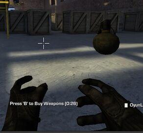 Grenade Glitch First Person