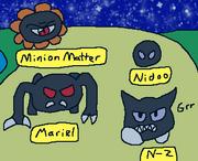 Mariel, Minion Matter, N-Z and Nidoo debut