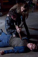 Suzanna telling Aiden to kill Kenny