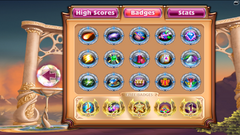 Bejeweled 3 All Badges Complete