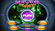 Bejeweled Twist Main Menu