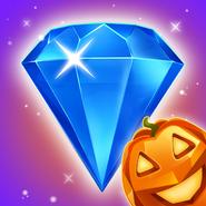 Bejeweled Blitz Square Icon (Halloween)