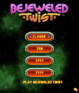 Bejweled Twist Mobile Game Menu 1