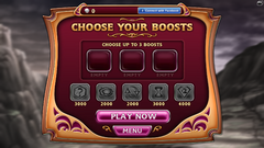 Bejeweled Blitz PC Boost Menu