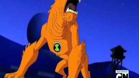 Ben 10 Ultimate Alien Wildmutt Transformation