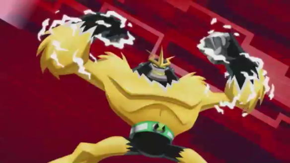 File:ShockSquatch Omniverse Art Work From Cartoon Network.png