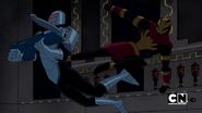 Soldados Diagon dando patadas por la espalda D=