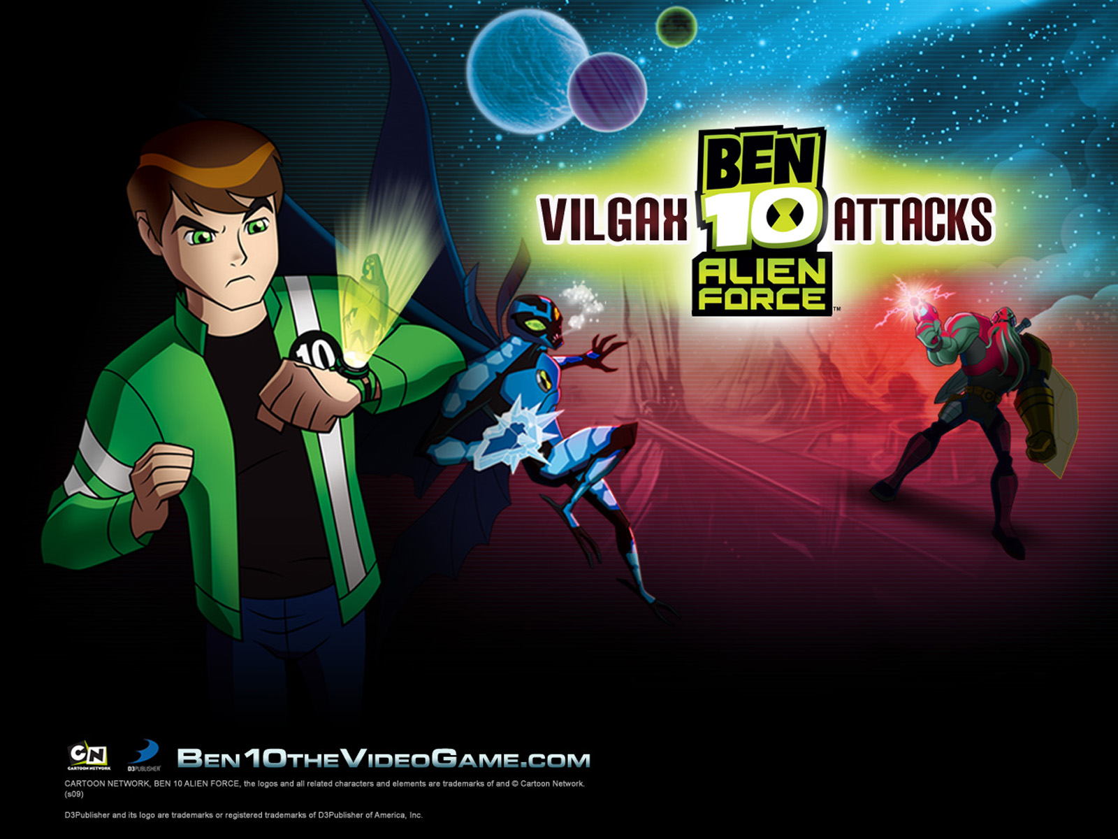 Ben 10 Vilgax Attack Capitulos Completos | Ben 10 Alien Force Vilgax Attack (Cartoon Network)