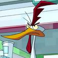 Chicken alien character