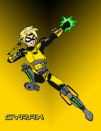 Teen Titans Cyrax by EX388