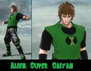 Scv ben as super saiyan by leehatake93-d5tv8li