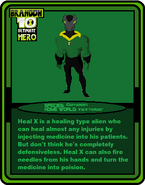 Trading Cards UH (Heal X)
