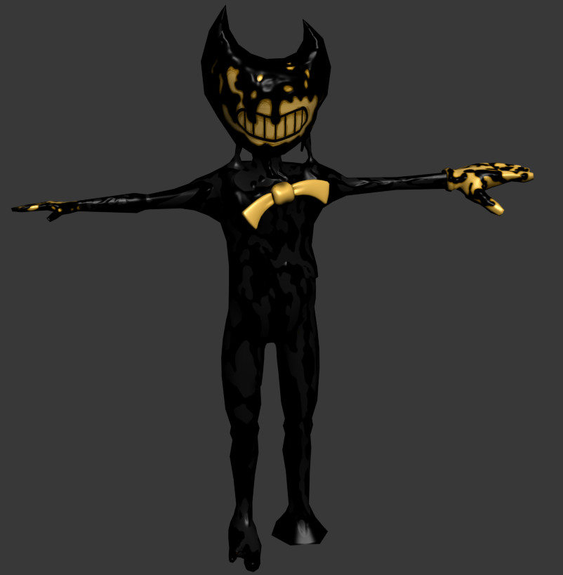 Image - Bendy-model.jpg | Bendy and the Ink Machine Wiki ...
