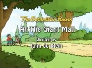 At the Giant Mall
