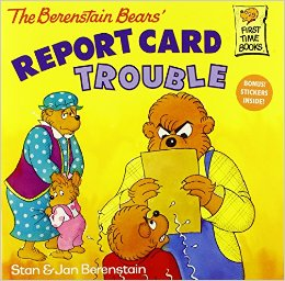 File:Berenstain Bears Report Card Trouble cover.jpg