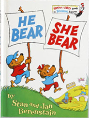 He bear she bear cover