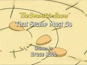 That Stump Must Go