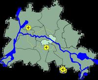 Lage Friedrichshain-Kreuzberg