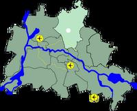 Lage Pankow