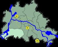 Lage Steglitz-Zehlendorf