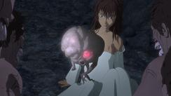 Demon Child saving Casca