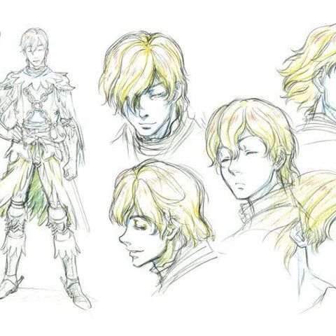 Concept sketches of Serpico for the <a href=