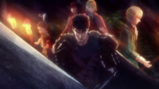 Guts' party prepares for battle