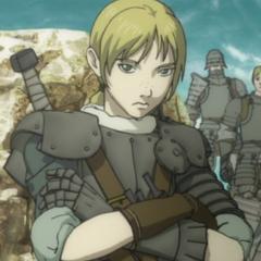 Judeau in his armor.
