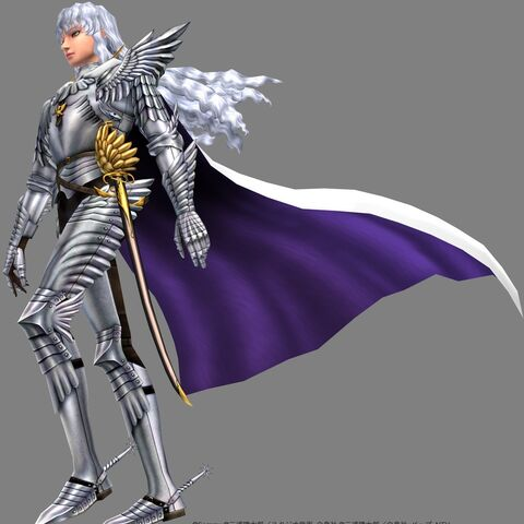 Griffith's character model in <a href=