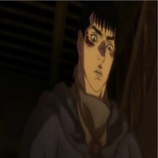 Guts during his assassination of <a href=