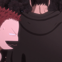 Annoyed at Guts for ignoring his part in the rescue.