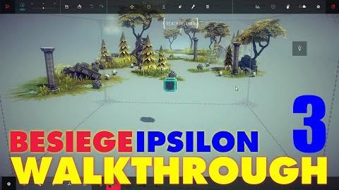Besiege Zone 3 - Old Howl Battlefield WALKTHROUGH