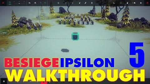 Besiege Zone 5 - The Queen's Fodder WALKTHROUGH