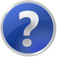 Question mark framed blue 3d.png