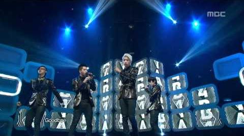 B1A4 - This Time Is Over, 비원에이포 - 디스 타임 이즈 오버, Music Core 20120317