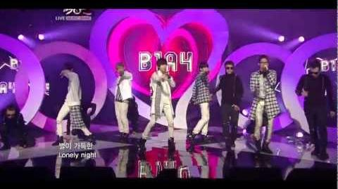 B1A4 ~ My Love Music Bank 11.18
