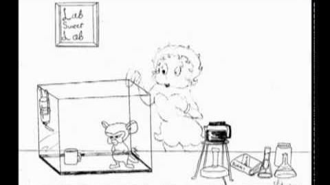 Brain and Betty Boop lip sync test